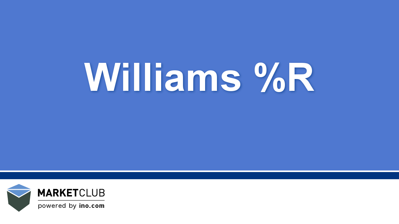 Beginner's Guide to the Williams %R